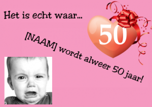 wordt 50 jaar Ik Word 50 Uitnodiging   ARCHIDEV wordt 50 jaar