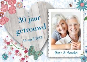 30 jaar getrouwd jubileum Prachtige uitnodiging 30 jaar getrouwd   Uitnodiging maken 30 jaar getrouwd jubileum