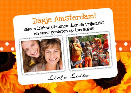 Samen Dagje Uit Naar Amsterdam Uitnodiging Maken