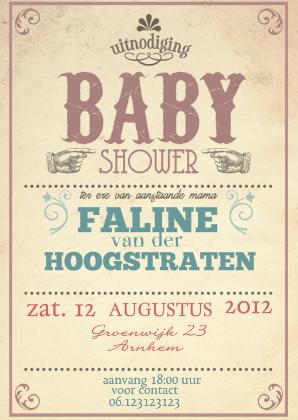 Populair babyshower uitnodiging Archives - Pagina 3 van 4 - Uitnodiging maken @TF82