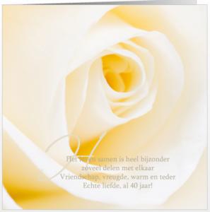 mooie gedichten 40 jaar huwelijk 40 Jaar Getrouwd Kaart Tekst   ARCHIDEV mooie gedichten 40 jaar huwelijk